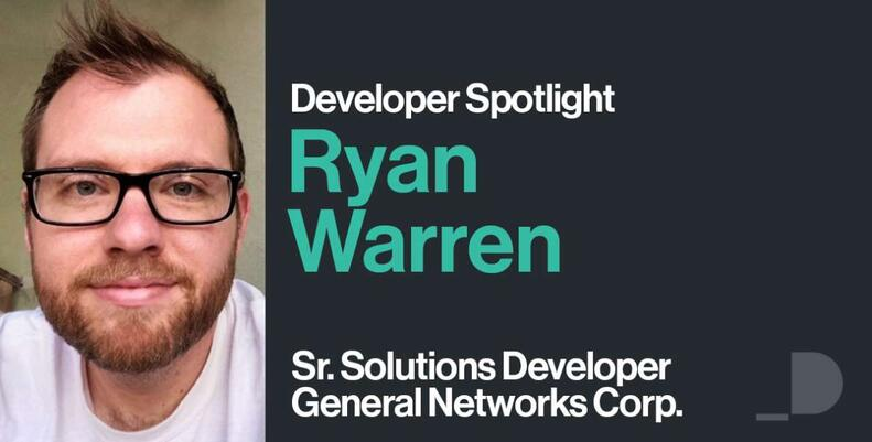 Spotlight Developer, Ryan Warren