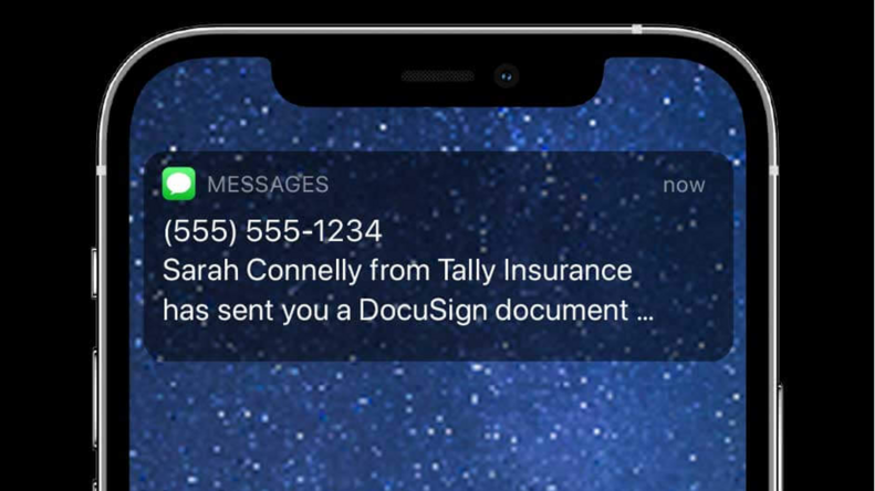 SMS Delivery for eSignature