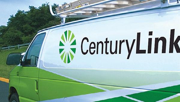 A CenturyLink van.