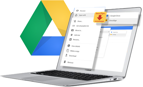 DocuSign for Google Drive