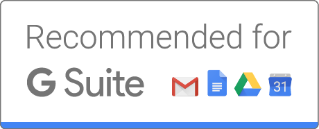 Recommended for G Suite
