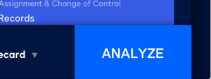 Screenshot image of the word analyze to represent how easy one-click contract analysis can be.