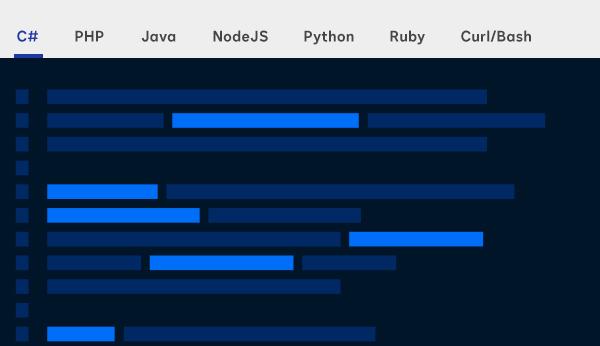 Screenshot of DocuSign APIs