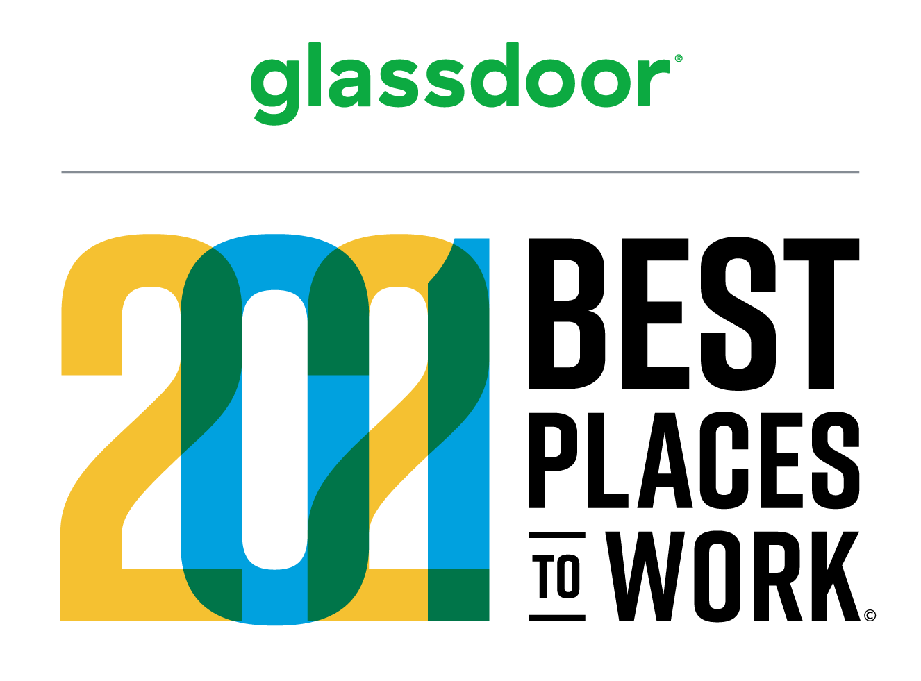 Glassdoor 2021 best places to work
