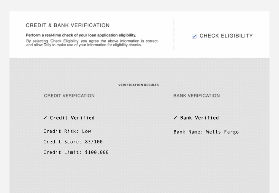 DocuSign eSignature Data Verification screenshot.