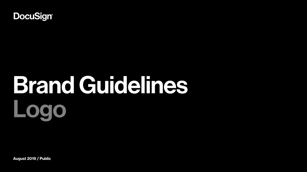 DocuSign Brand Guidelines PDF download