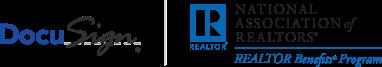 DocuSign and NAR logo