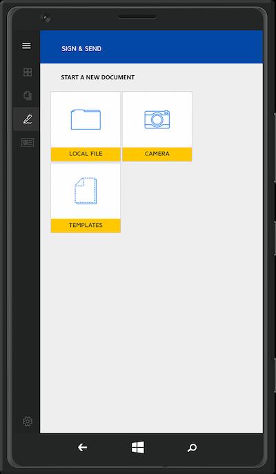 DocuSign mobile online esignature app for enterprise business