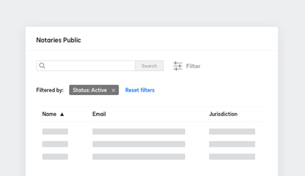 DocuSign Notary gives your notaries public the ability to securely conduct RON transactions.