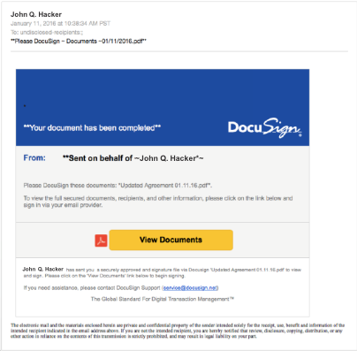 Recognizing and Reporting Suspicious Activities | DocuSign
