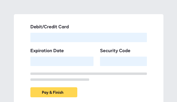 Screenshot of DocuSign Payments