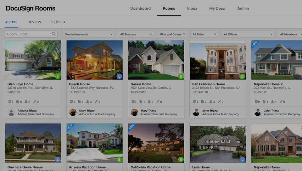 DocuSign Rooms for Real Estate video