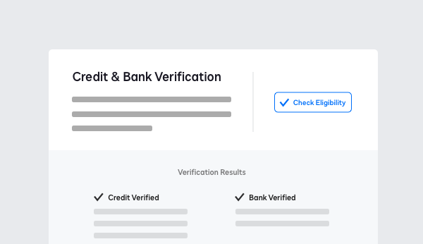Screenshot showing banking data verification results with DocuSign Identify.