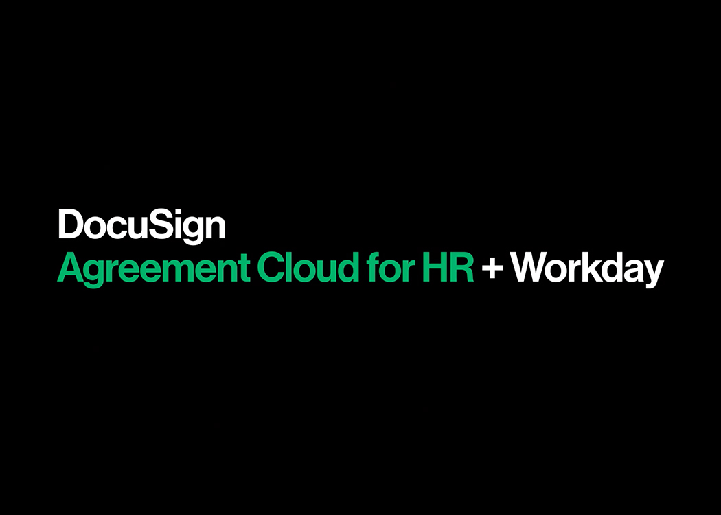 DocuSign Agreement Cloud for HR + Workday
