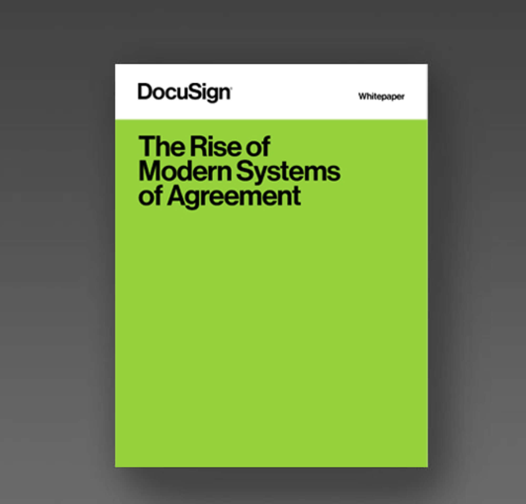 Download the Rise of Modern Systems of Agreement whitepaper
