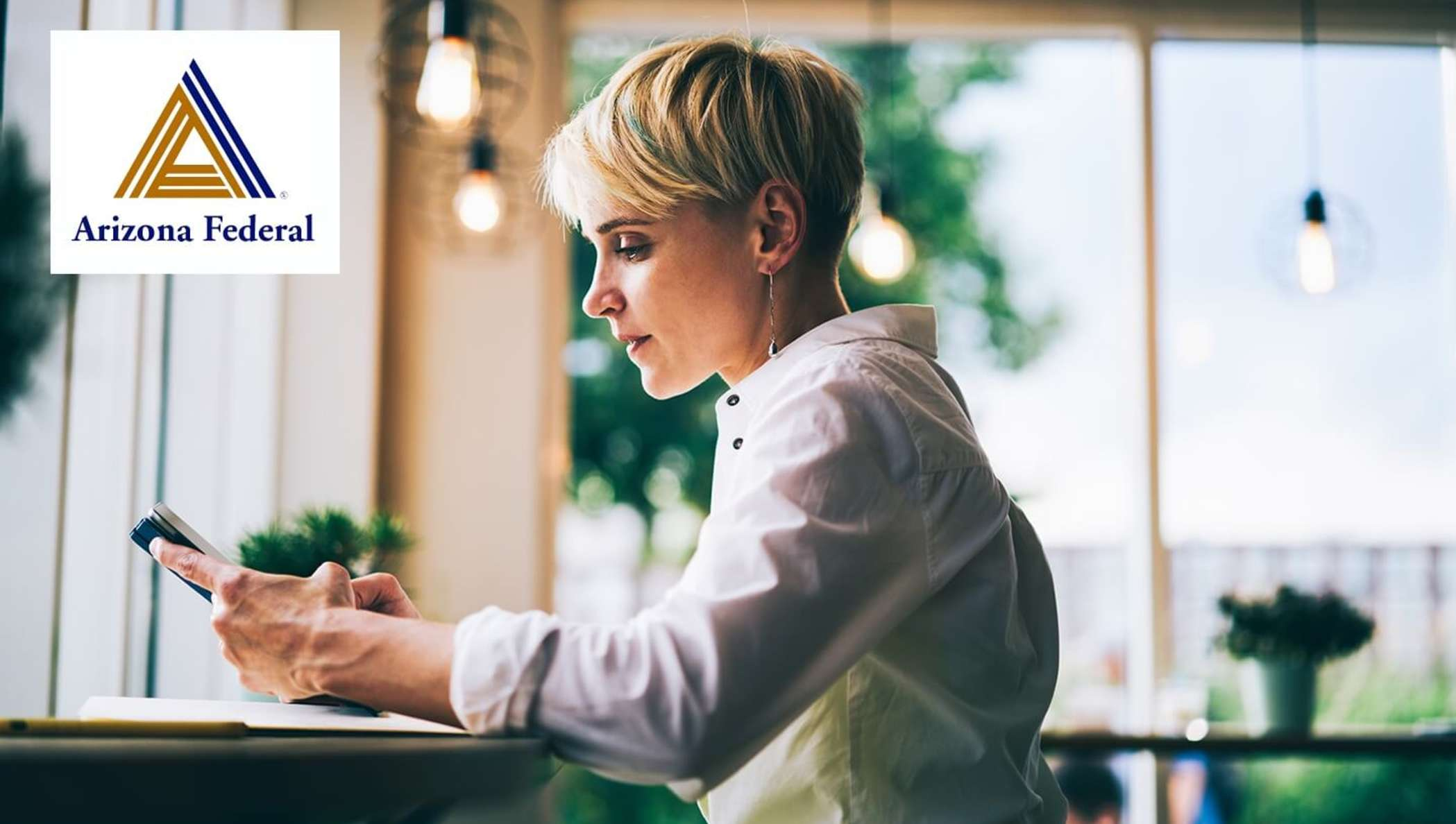 Arizona Federal customer applying for a loan with DocuSign.