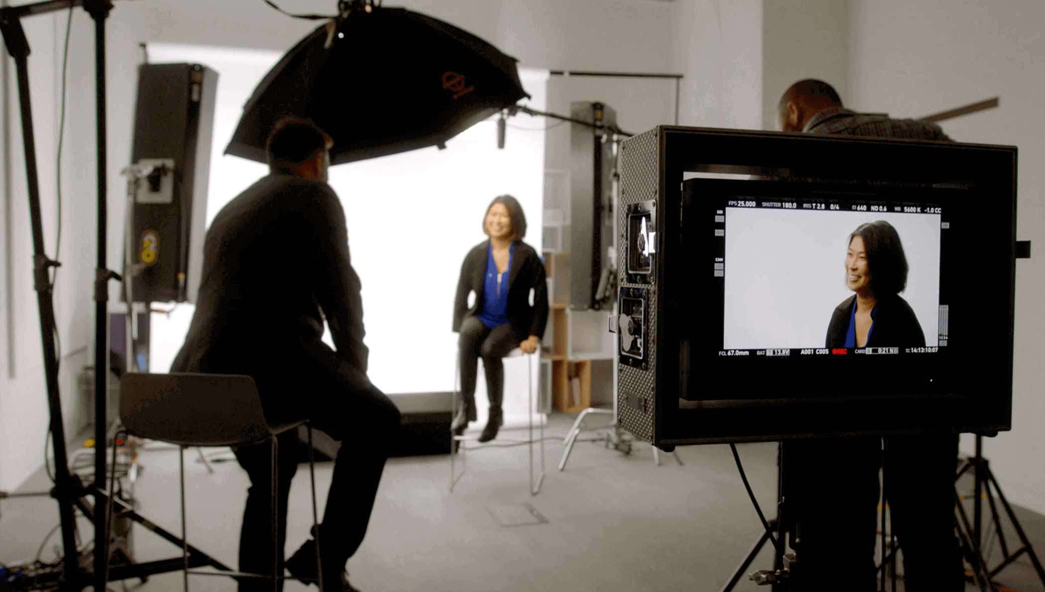 Still image of Unilever executive being interviewed by DocuSign about CLM in this video.