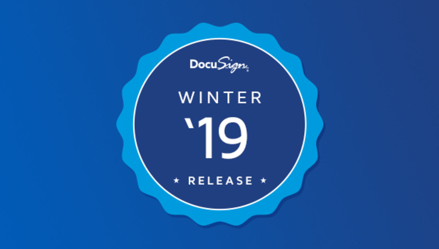 DocuSign Winter '19 Release launches