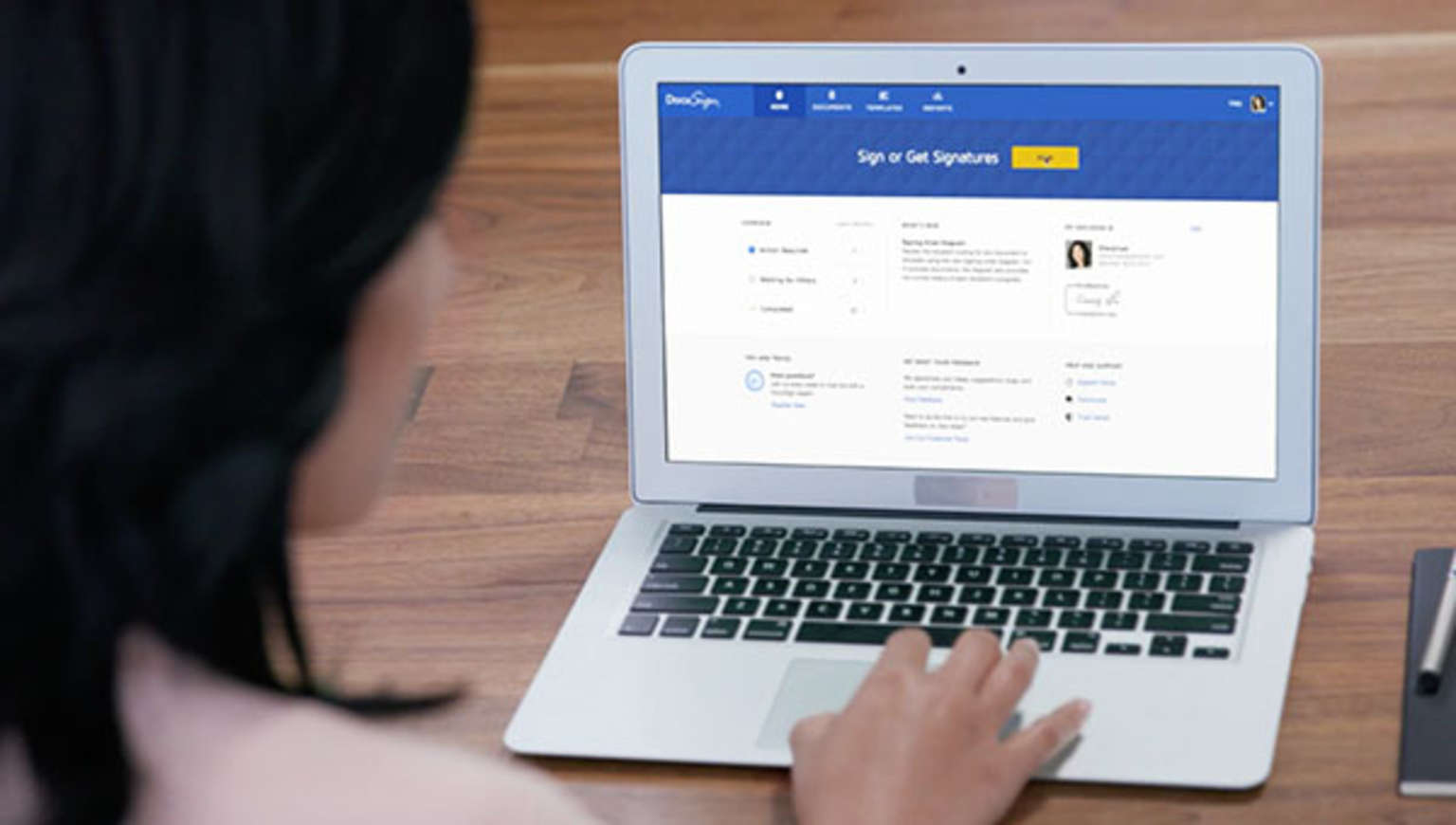 Find out how DocuSign electronic signatures work