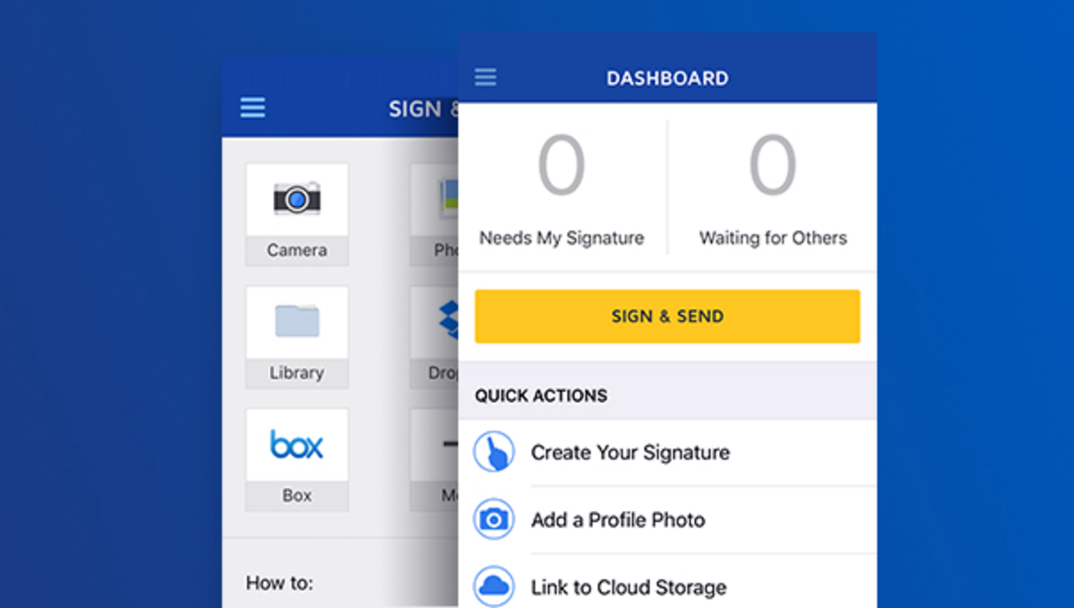 Try sending documents with the DocuSign demo