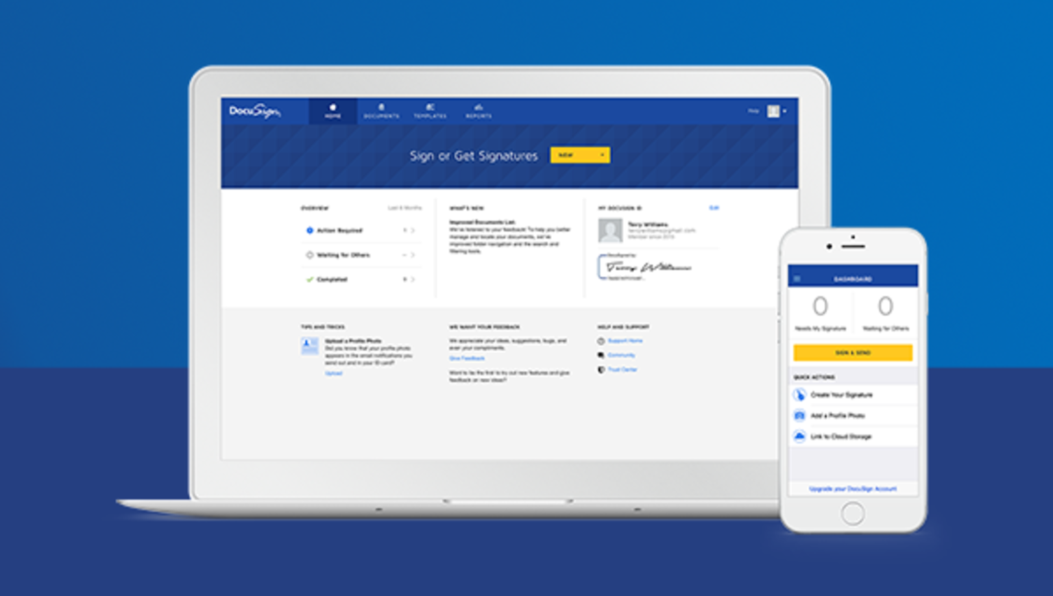 Try the new DocuSign experience