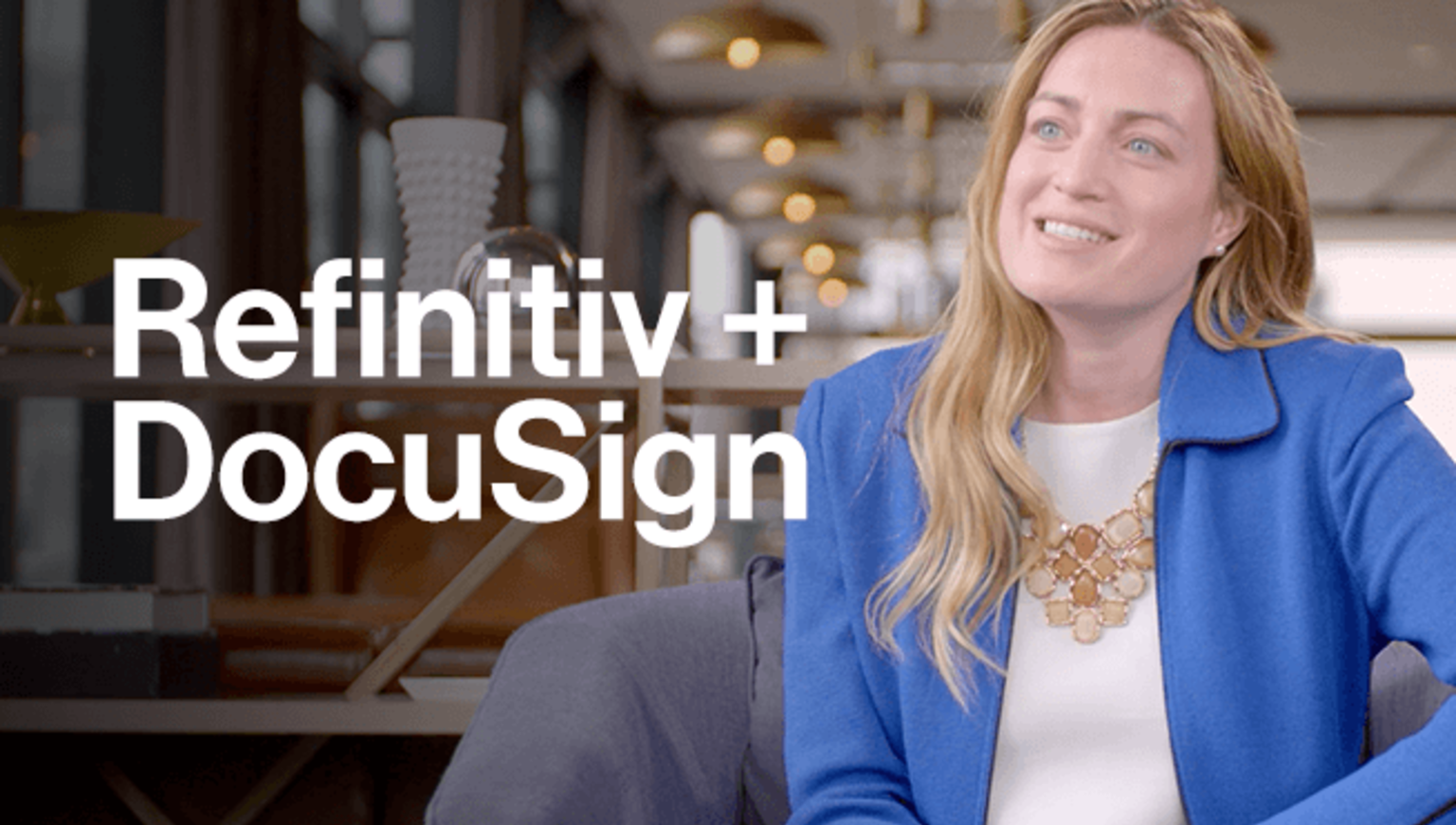Refinitiv and DocuSign