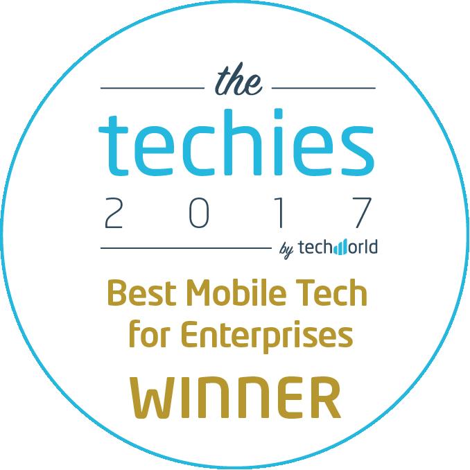Best Mobile Tech for Enterprises award