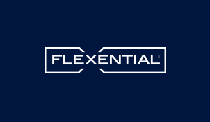 Image of the company logo for DocuSign Agreement Cloud customer Flexential.