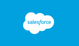 Image of the company logo for DocuSign Agreement Cloud customer Salesforce.